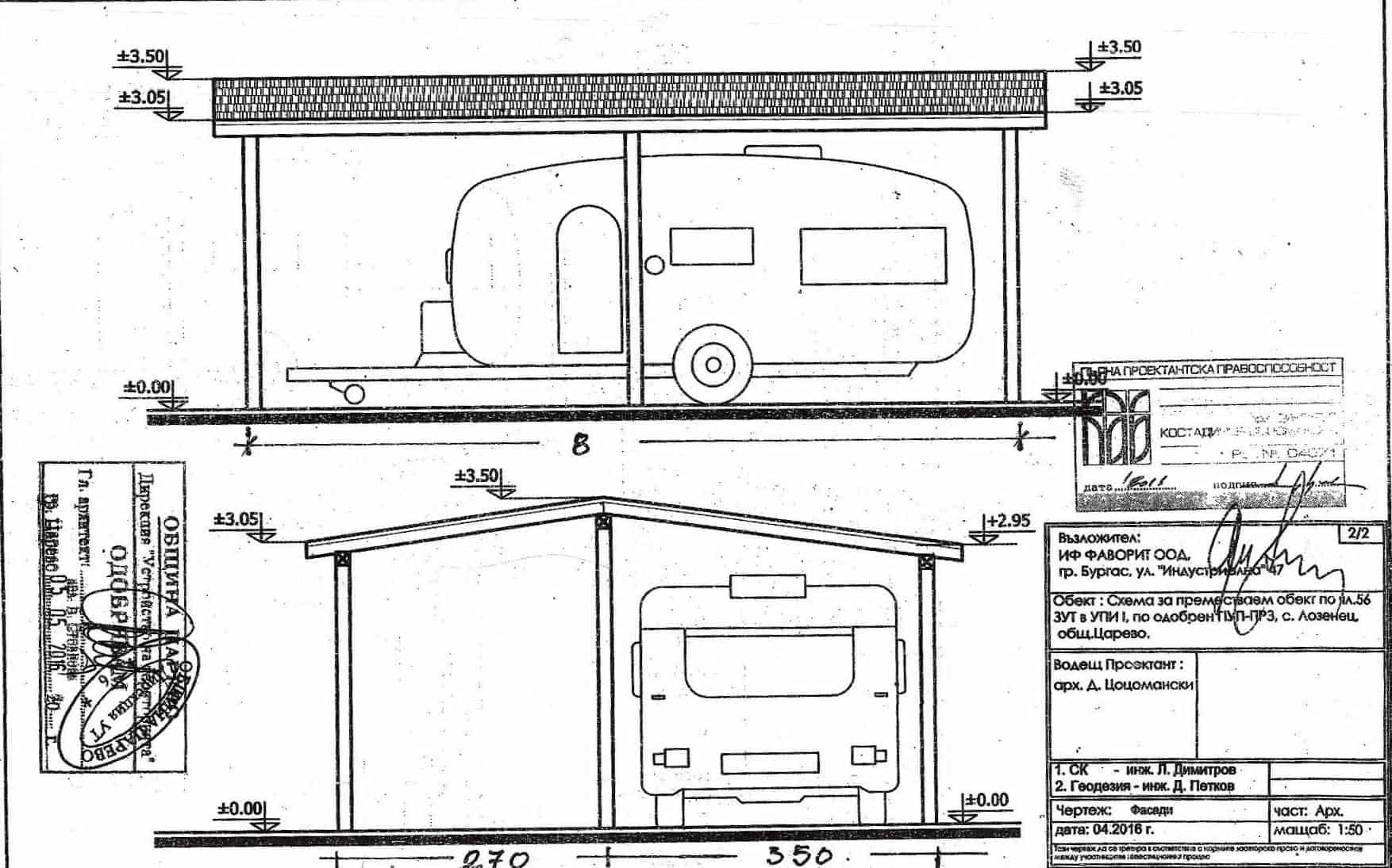 Свободни места – парцели за каравани на къмпинг Юг, Китен и Оазис